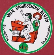Sticker Autocollant VBS Vrije Basisschool Nijlen Antwerpse Kempen Aufkleber Adesivo - Stickers
