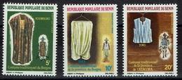 Benin 1984 - Trachten  Folk Costume - MiNr 353-355 - Kostüme