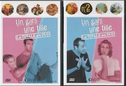 LOT DE 4 DVD UN GARS UNE FILLE - CHOUCHOU Et LOULOU - Komedie