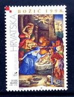 CROATIA 1998 Christmas, MNH / **.  Michel 490 - Croazia