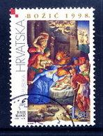 CROATIA 1998 Christmas, Used.  Michel 490 - Croazia