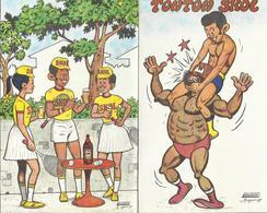 Brasserie UNIBRA ZAIRE (Congo Belge) Dépliant Publicitaire Bande Dessinée 1981 Les Aventures De Tonton SKOL Denis BOYAU - Autres Collections