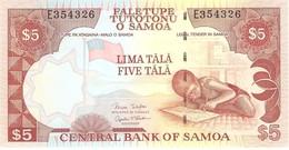 SAMOA 5 TALA 2005 PICK 33b UNC - Samoa
