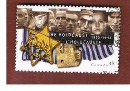 CANADA   -  SG 1672 - 1995 THE HOLOCAUST      - USATI  (USED)° - 1952-.... Regno Di Elizabeth II
