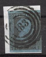 "Preußen 3 Bfst. ""183"" Breslau - Prusse"