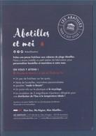 """= Les Abatilles, Et Moi, Source D'inspiration,Grand Cru De L'eau, Made In Bassin, Jusqu""""à Plus Soif - Reclame"""
