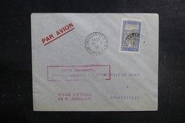 MADAGASCAR - Enveloppe Du Voyage Aérien D'Etude De M. Assolant En 1936 , Affranchissement Plaisant - L 39513 - Madagaskar (1889-1960)