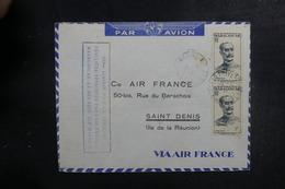MADAGASCAR - Enveloppe De La 100ème Liaison Aérienne Madagascar / La Réunion En 1947 - L 39514 - Madagaskar (1889-1960)