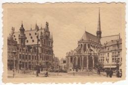 CP-JEN: Louvain - Place Foch Et Eglise St-Pierre. - Leuven