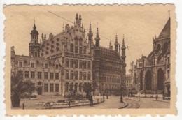CP-JEN: Louvain - Table-Ronde Hôtel De Ville Et Place Foch. - Leuven