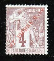ST PIERRE Et  MIQUELON - N°33 * (1891) Surcharge Rouge - St.Pierre Et Miquelon