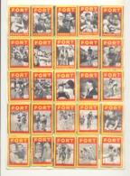 Série De 28 étiquettes ( Façade ) De Boîte D'allumettes - RIK VAN LOY, Coureur Cycliste, Cyclisme, Vélo,... (rmt) - Matchbox Labels