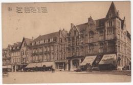 CP-JEN: Ypres - Grand'Place. Les Hôtels. - Ieper
