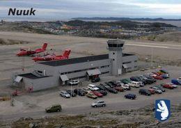 1 AK Grönland Greenland * Flughafen Der Hauptstadt Nuuk - Airport * - Grönland