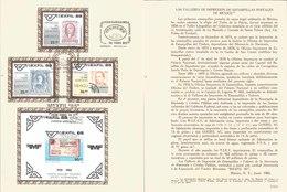 V) 1985 MEXICO, POSTAL PRINTING WORKSHOPS IN MEXICO, FDB - Mexico