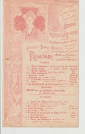 Programme Casino-Théâtre De Lausanne Soirée Musicale Au Profit Des Victimes De La Famine En Russie  1892 - Programmes