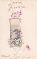 Liberty  -  Fanciulla Con Sciarpa Bianca  -  Stampa In Rilievo - Altri