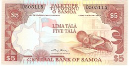 SAMOA 5 TALA 2002 PICK 33a UNC - Samoa