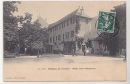 CPA Château De Challes - Hôtel (Vue Intérieure) - Autres Communes