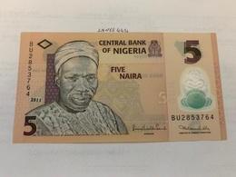 Nigeria 5 Naira Polymer Banknote 2011 - Nigeria