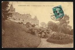 Cpa 039083 Liancourt Chateau Latour Vue Sur Les Rochers - Liancourt