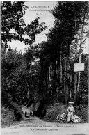 DEPT 76 : édit. L J N° 201 : Saint Léonard , Le Chemin De Grainval , Environs De Fécamp - Francia