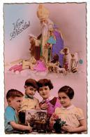 Vive St -NICOLAS - Jouets - Poupée - Enfants - Véritable Photo - Editions De Luxe G. P. La Rose N°652 - Paris - Saint-Nicolas