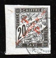 ST PIERRE Et  MIQUELON - N°52 Obl (1892) Timbre-taxe Surchargé - Oblitérés