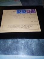 Carte Abonnement COEURS VAILLANTS AFF 1942 Tb - Marcophilie (Lettres)