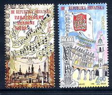 CROATIA 1998 Europa: National Festivals, MNH / **...  Michel 447-48 - Croatia