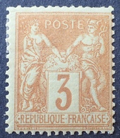 R1615/755 - SAGE TYPE II N°86 NEUF* - Cote : 330,00 € - 1876-1898 Sage (Type II)