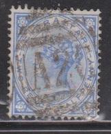 GIBRALTAR Scott # 14 Used - Early Queen Victoria - Gibraltar