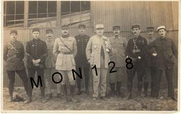ALGERIE-BASE AERIENNE MILITAIRE LA SENIA ORAN -MILITAIRES-PHOTO 1920 - 17,5x11 Cms - Aviation