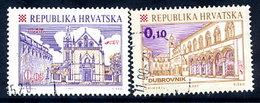 CROATIA 1998 Towns Definitives, Used   Michel 445-46 - Croazia