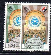 APR2247 - LIBIA LYBIA 1974 , Serie Yvert  N. 520/521  *** - Libia