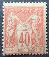 R1615/760 - SAGE TYPE II N°94 NEUF (*) - 1876-1898 Sage (Type II)