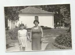 Woman And Girl Pose For Photo Hy462-227 - Anonymous Persons