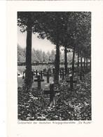 """III. Reich, Gräberfeld D. Deutschen Kriegsgräberstätte Roeselaere-de-Ruyter  """" De Ruyter """" Flandern, Belgien - Weltkrieg 1939-45"""