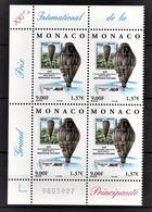 MONACO 2000 - BLOC DE 4 TP / N° 2285 - NEUFS** COIN DE FEUILLE - Neufs