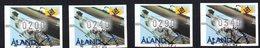 Serie Timbres Destributiers Nº 7  Aland - Aland