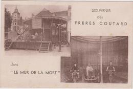 """Souvenir Des FRÈRES COUTARD  Dans """"LE MUR DE LA MORT""""  - ATTRACTION - - Motos"""