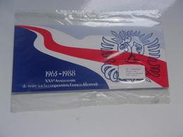 Traité De Coopération Franco-allemand DE GAULLE , ADENAUER - Blocs Souvenir