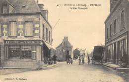 Urville - La Rue Principale - Cherbourg