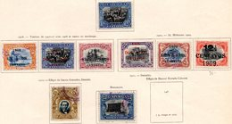 GUATEMALA - (République) - 1907 à 1911 - N° 137 Et 145 - (Lot De 9 Valeurs Différentes) - Guatemala