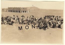 ALGERIE- WILAYA DE TAMANRASSET - IN SALAH - MARCHE- PHOTO 1917 - 16,5x11 Cms - Places