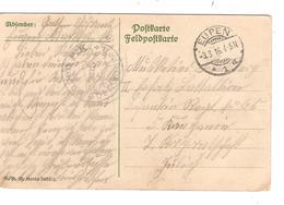 3326/  Cantons De L'Est CP Fantaisie Càp Eupen 3/3/1916 Censure Eupen PK Befördern > Militaire Jülich - Oorlog 14-18
