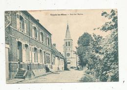 Cp, 62 ,  ENQUIN LEZ MINES , Rue De L'église , écrite 1931 - France