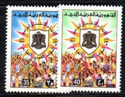 APR2259 - LIBIA LYBIA 1976 , Serie Yvert  N. 557/558  ***  MNH - Libia