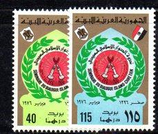 APR2260 - LIBIA LYBIA 1976 , Serie Yvert  N. 559/560  ***  MNH - Libia