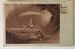 BUON NATALE - 1941 -VIAGGIATA FP - Andere